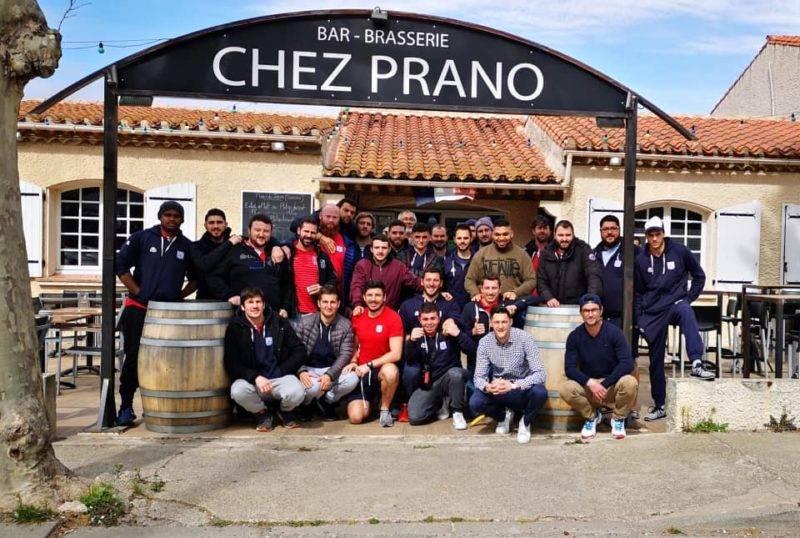 Repas d'avant match Chez Prano pour le TLA Copie