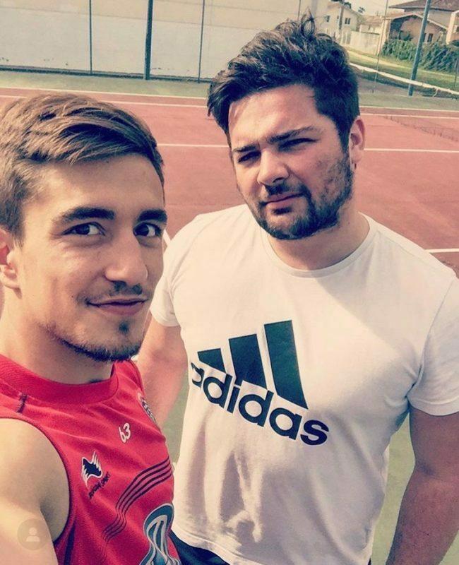 tennis avec Anthony Méric
