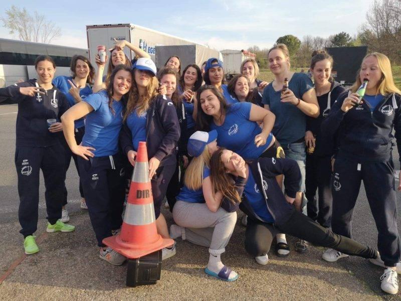 FCTT féminin a signé sa 10eme victoire bonifiée sur une aire d'autoroute avant de reprendre la route vers phases finales