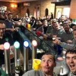 Mega selfie victoire au Boulevard Café pour pézens Chez Bouca avec nos copains de l'ECV