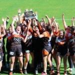 Rugby club de la pimpine champion promotion fédérale féminine à X