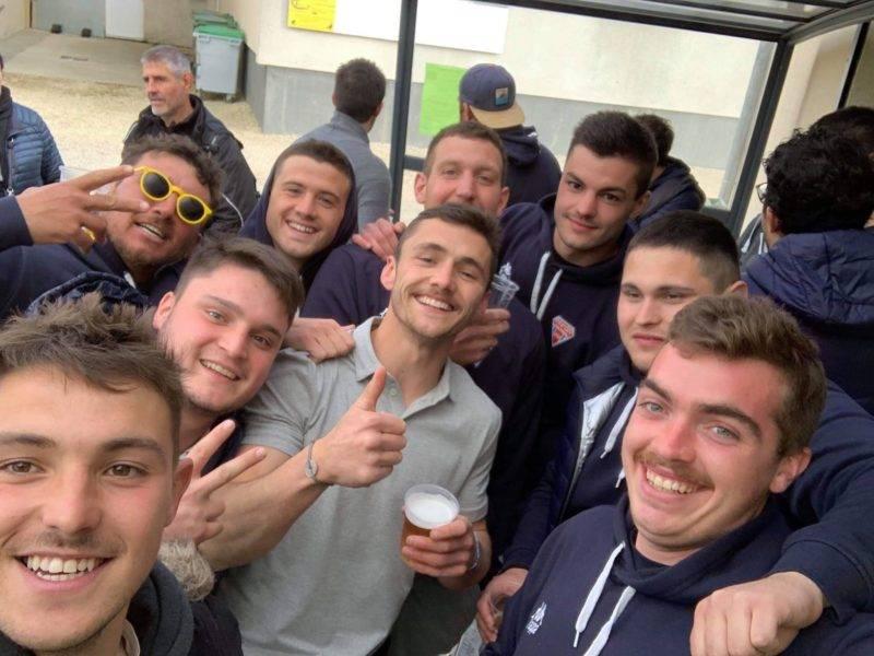 Victoire de saint Lary soulan en quart de finale occitanie 1ère série contre l'union 22 13