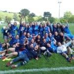 Les cadettes du Castres olympique féminin sont en 1 2 finale avec le score de 7 5