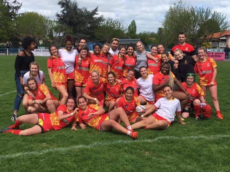 Les cadettes filent en demi Finale du championnat de France après leur victoire face à Aurillac. Elles affronteront le Castres Olympique