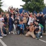 joueurs et supporters d'astier neuvic