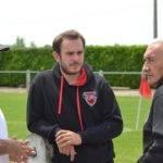 à gauche Bruno zorzetto en charge des lignes arrières et a droite Robert Fernande responsable sportif du club.