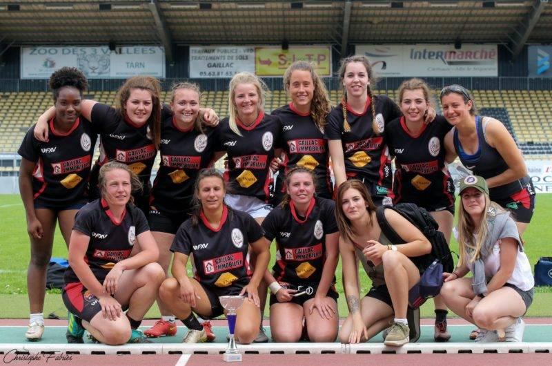 Les féminines de GAILLAC vainqueurs des PAVOIS DU TARN 2019