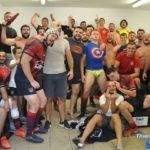 Les vestiaires de l'UNION Sportive COARRAZE NAY après les deux victoires bonifiées contre le Football Club Lourdais