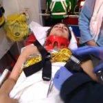 Le mafré de la journée pour le Tac le 3ème ligne Pablo victime d'un KO suite à un mauvais placage . Bon rétablissement à lui