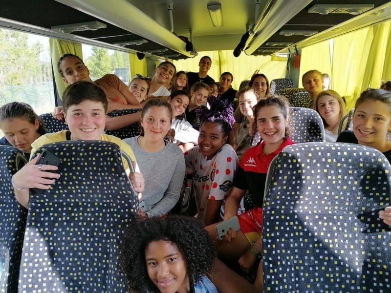 Malgré la défaite face à la très belle équipe de l'USAP, les cadettes de Millau se qualifient pour le niveau 1, plus haut niveau de pratique en France. L'objectif atteint pour nos sang et or