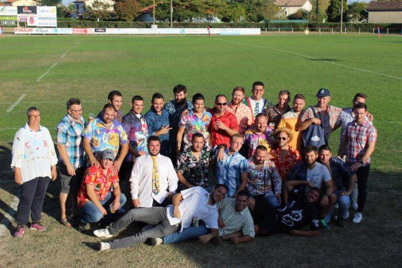 Montech fête la victoire avec des chemises '' dégueulasse''