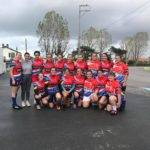 cadettes et séniores du Rugby Côte Sud Landes ont tout donné cette aprèm sur le terrain du Biarritz Olympique face aux équipes d'Hasparren et Biarritz