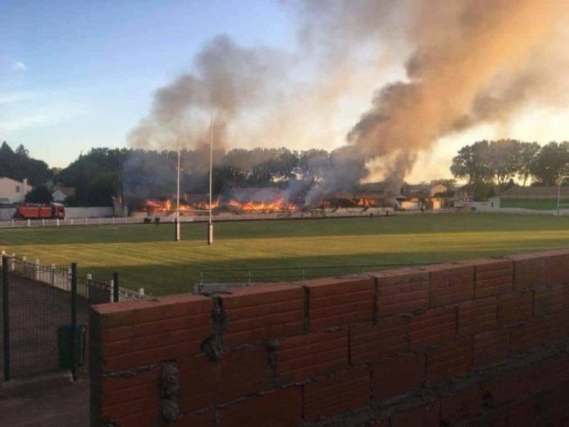 incendie stade moulin lezignan corbieres 854x641