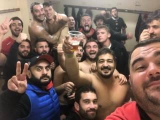 victoire de saint yrieix contre belves 25 a 19 en première et défaite de la B 33 a 3