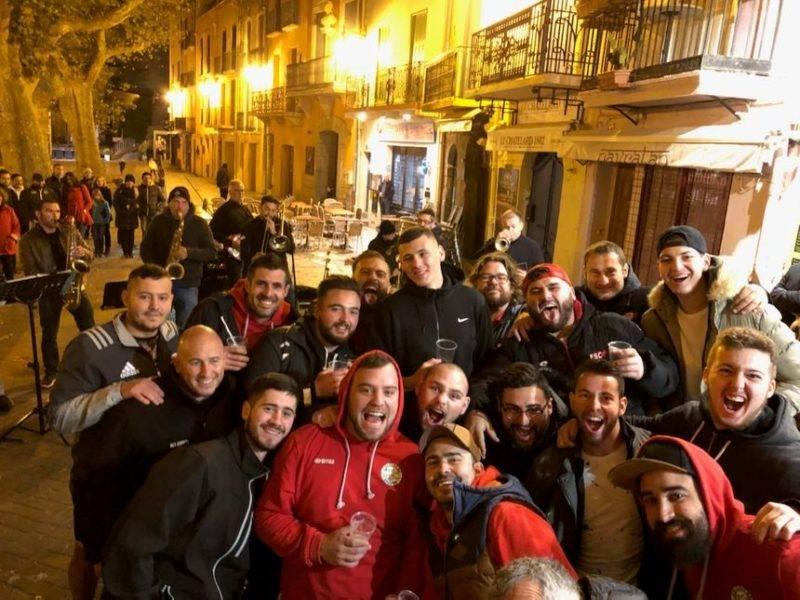 Collioure peut faire la fête après sa victoire 29 à 8 contre Mèze