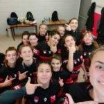 L'équipe cadettes à X de lyon a remporté ses deux matchs 44 5 contre RC St Four et 19 17 contre Clermont la plaine.