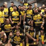 Selfie Sporting club Albigeois , après la victoire à Tarbes