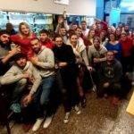 Selfies des 2 équipes victorieuses de l'us plateau de Sault