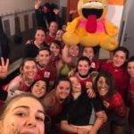 Victoire des féminines du RCA en terre auscitaine face au RCL (Rugby club de Lomagne rugby) sur le score de 25 5. Bonne soirée