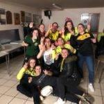 féminines de l'US Vielmur après leur victoire dans le derby à Brassac c'est du venin