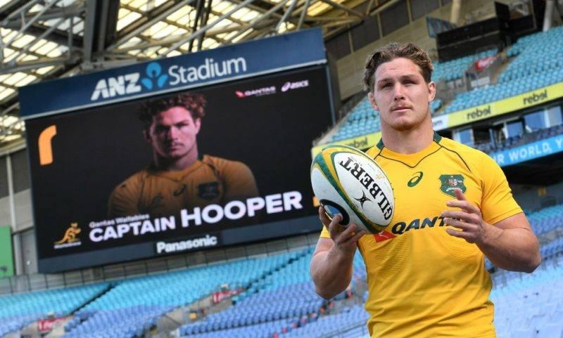 troisieme ligne NSW Waratahs Michael Hooper posesa nomination poste capitaine Australie rugby 2 2017 Sydney_0_1399_842