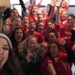 Les seniors filles du RCA s'imposent à Bagnères de Bigorre 0 15 pour le premier match de la seconde phase