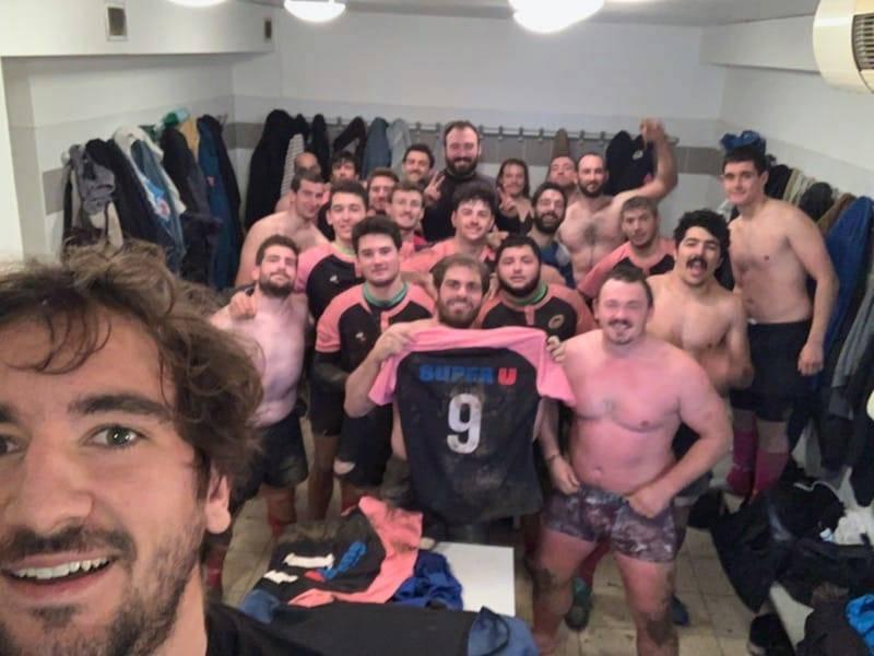 Maxime Mermoz est venu soutenir le Toulouse Electrogaz Club Merci aux bénévoles, les joueurs, le staff et à notre Ami Kader Bentaiba le manager du club