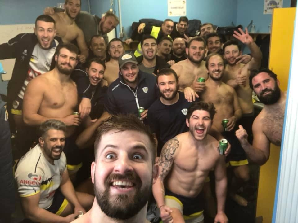 alanque Alenya a le sourire après la victoire 22 à 17 contre Vinça
