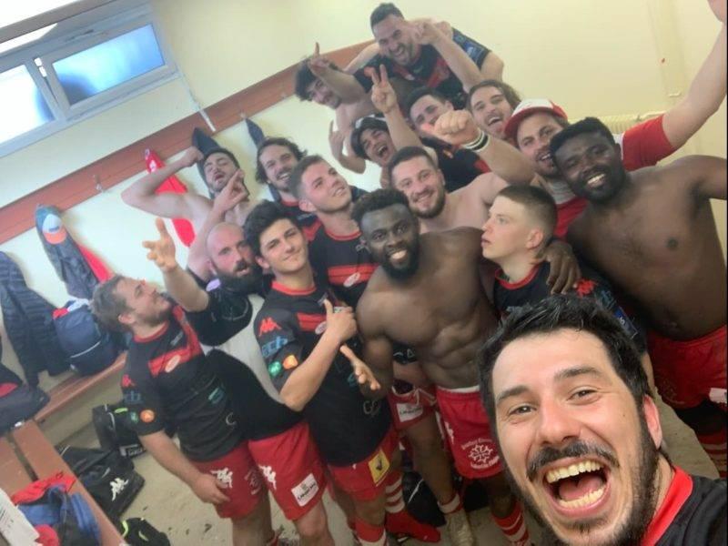 Victoire de la B de Castelnaudary 30 25 à Rieumes