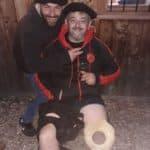 Vincent capitaine du Brulhois talon blessé sur un regroupement contre septfonds