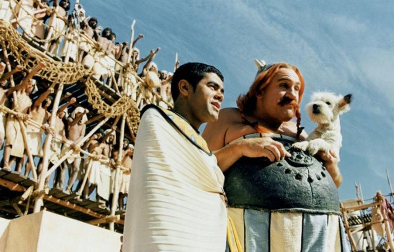 Debbouze et Depardieu prives des roles d Asterix et d Obelix