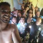 Selfie et vidéo de la victoire bonifiée du Tac à Roquettes