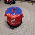 Kevin Loze alias le Kube qui se tient bien à table est obligé de détendre le maillot TLA XV