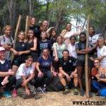 Les cadettes de l'entente Lunel, Nîmes, Marguerittes ont participé ce WE à un stage de cohésion.