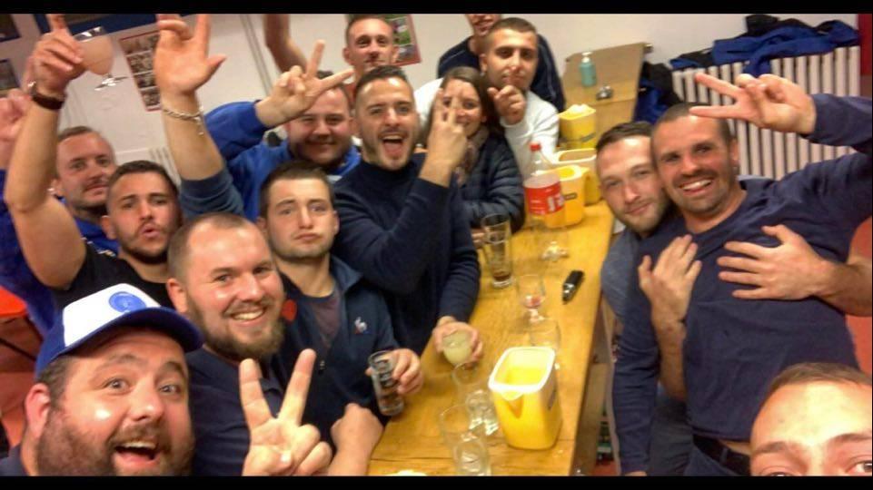 Victoire 55 18 contre XV charolais!! 2e victoire en 2 match pour Autun qui vient de monter en Honneur Bourgogne Fanche Comté