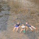baignade dans le fleuve aubusson