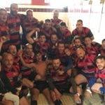 double selfie à Saintes après les 2 victoires contre Lège Cap ferret   2