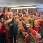 le RC L'Aurence Limoges a battu Chasteaux Lissac 21 12 et renoue avec le selfie de la victoire