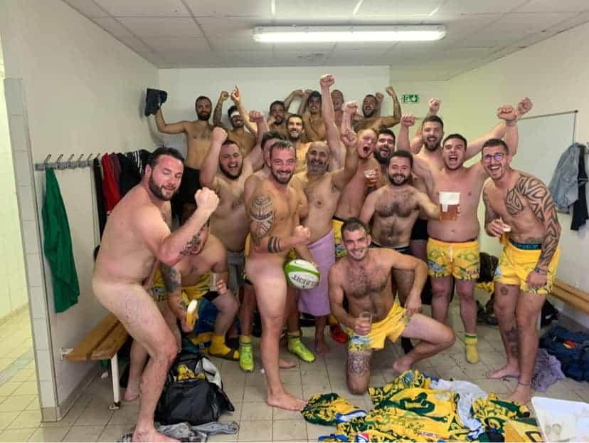1ere 2eme Serie ligue Aura poule 3 impossible n'est pas villeneuvois Victoire des séniors contre Veyle Saône sur le score de 27à17
