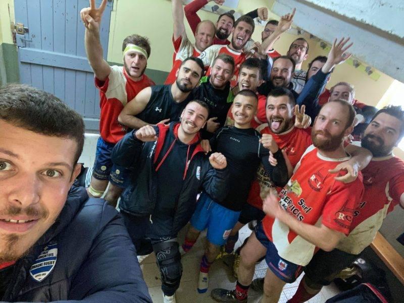 Dans le derby de la Lomagne, le RC Lomagne l'emporte face au Montestruc Gers Rugby 22 à 5.