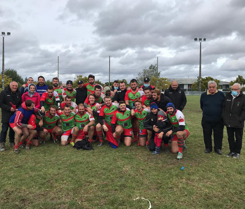 féminines du 4 Cantons BHAP ont gagné 25 15 sur le pré du Périgord Noir RF en régional à X Nouvelle aquitaine