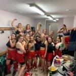 Les féminines du RC L'Aurence ont débuté leur saison en régional à X NA avec un succès 70 0 à Confolens et gardent leur bonne humeur pour fêter ça