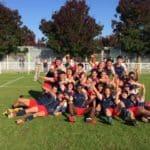 Victoire des jeunes caouecs. pour le premier match juniors nationaux