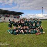 les Rugbykinis de Suresnes ont battu les Griffons de l'entente Oise 100 12 en fed2 féminine