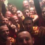 selfie saint cyprien a gagné le derby à Monpazier