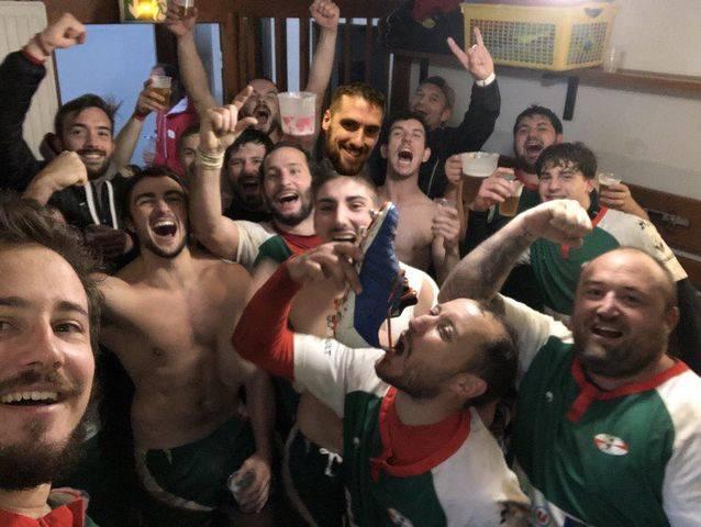 victoire de l'équipe une du Rugby club Palaisien face à Daglan