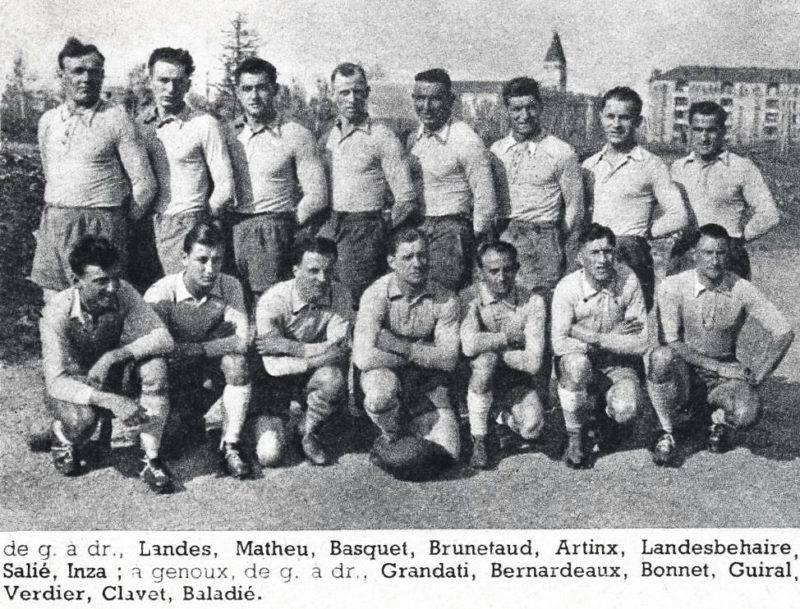 SU_Agen_finaliste_du_championnat_de_France_de_rugby,_en_mars_1943