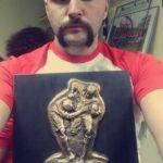 enguerrand avec le trophée de finaliste terroir après sa blessure