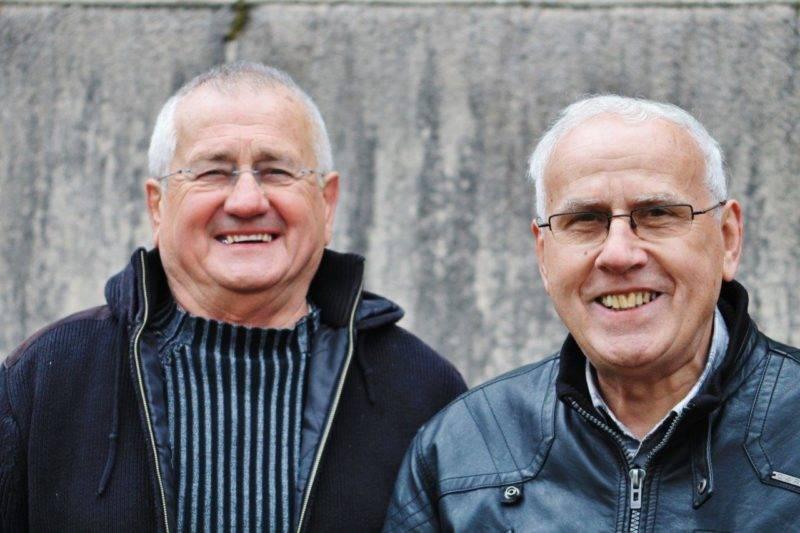 ouis avec J. Claude RouchBijou ancien coéquipier au R.C. Mirepoix décédé en 2019