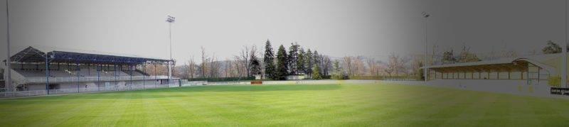 Le Stade de la Chevalière n'attend qu'une chose: revoir les noir et bleu refouler la pelouse et recommencer à accueillir les fervents supporters.